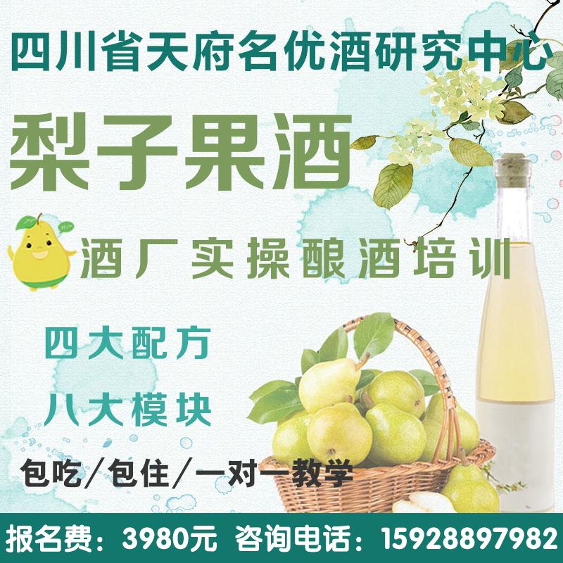 黃金梨釀酒技術培訓 黃金梨酒 發酵酒 酵素酒 果酒技術教學
